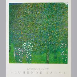 Gustav Klimt - Blühende Bäume - Offset - 50 x 60 cm