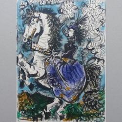 Pablo Picasso - Editions cercle d'art, Paris, Pour Jaqueline Reine, 11.3.59 - Kunstdruck - 26 x 36 cm