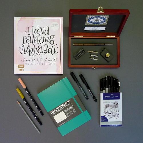 Kalligraphie und Handlettering
