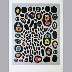 Michel Huss - Chinatown lI, 2001 - Serigraphie, 28/80 - 50 x 65 cm