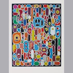 Michel Huss - Broadway, 2000 - Serigraphie, 143/160 - 50 x 65 cm