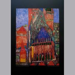 Friedensreich Hundertwasser - Kathedrale (I) Marrakech, 1951 - Kunstdruck - 60 x 80 cm