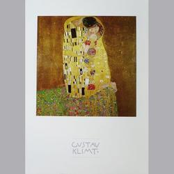 Gustav Klimt - Der Kuss - Offset - 50 x 60 cm