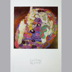 Gustav Klimt - Die Jungfrau - Offset - 50 x 60 cm