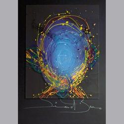 Simon et Bruno - Ohne Titel - Acryl/Acryl - 50 x 70 cm