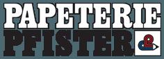 Papeterie, Bürobedarf, Einrahmungen Werner Pfister - Logo